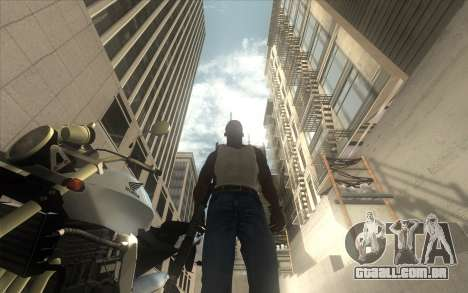 Classic Dark ENB para GTA San Andreas por diante tela