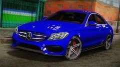 Mercedes-Benz C250 AMG Edition 2014 SA Plate