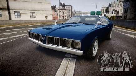 Classique Stallion Fastback para GTA 4
