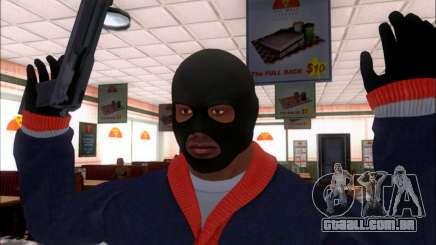 Franklin (o Ladrão) de GTA 5 para GTA San Andreas