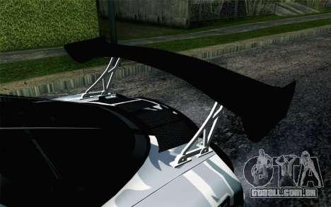 Mazda RX-7 MadMike para GTA San Andreas vista traseira