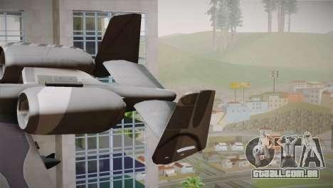 A-10A The Idolmaster -SP- para GTA San Andreas traseira esquerda vista