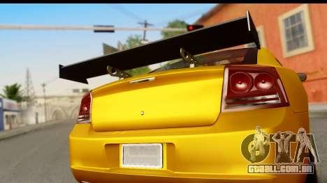 Dodge Charger SRT8 2006 Tuning para GTA San Andreas vista direita