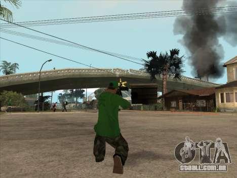 CABO de Battlefield 3 para GTA San Andreas quinto tela