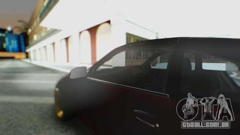 Toyota MR2 para GTA San Andreas vista interior