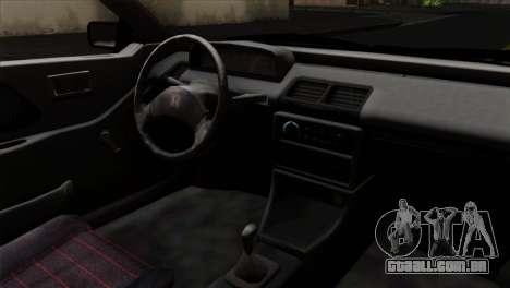 Honda Civic EF Hatchback para GTA San Andreas vista direita