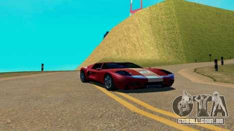 Summers-ENB v9.5 para GTA San Andreas segunda tela