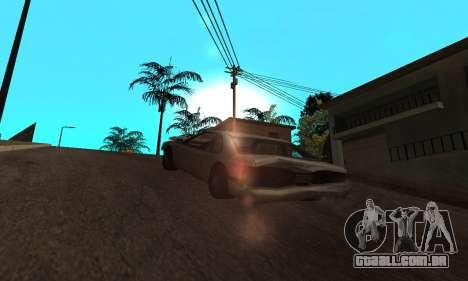 New Effects Paradise para GTA San Andreas por diante tela