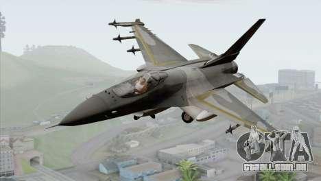 F-16 Scarface Squadron para GTA San Andreas