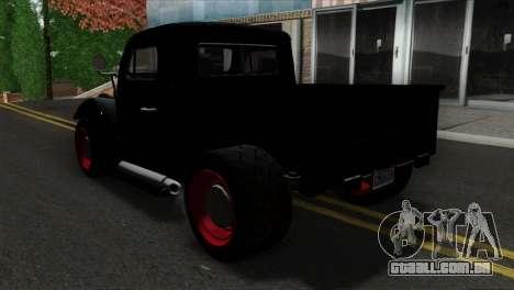 GTA 5 Bravado Rat-Truck SA Mobile para GTA San Andreas esquerda vista