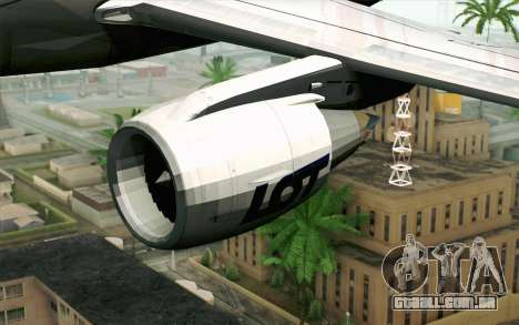 Embraer EMB-175 LOT Polish Airlines para GTA San Andreas vista direita