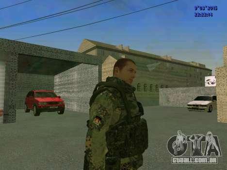 Um lutador de Esparta batalhão para GTA San Andreas segunda tela
