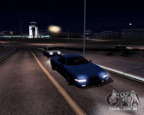 GtD ENBseries para GTA San Andreas por diante tela