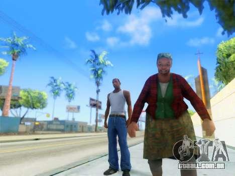 ENB Graphics Enhancement v2.0 para GTA San Andreas segunda tela