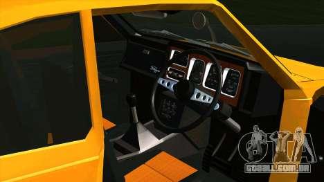 Mitsubishi Minica Skipper para GTA San Andreas vista traseira