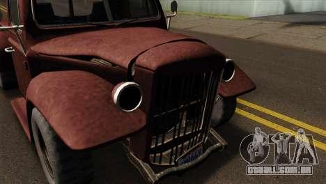 GTA 5 Bravado Rat-Loader IVF para GTA San Andreas vista direita