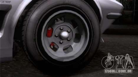 GTA 5 Invetero Coquette Classic HT SA Mobile para GTA San Andreas traseira esquerda vista