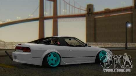 ENB W V2 para GTA San Andreas por diante tela
