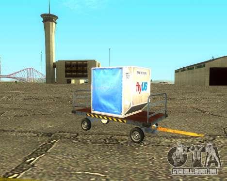 New Bagbox B para GTA San Andreas vista direita