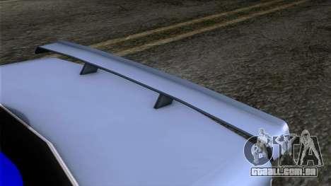 Primo GT para GTA San Andreas vista traseira