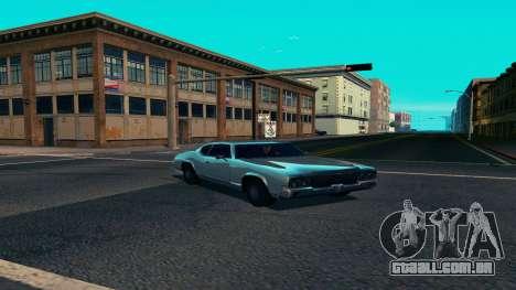 Summers-ENB v9.5 para GTA San Andreas por diante tela