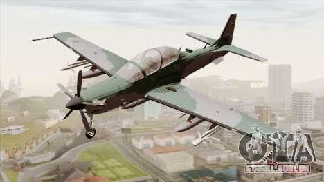 Embraer A-29B Super Tucano FAB para GTA San Andreas