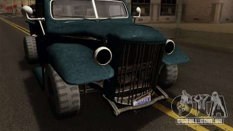 GTA 5 Bravado Rat-Loader para GTA San Andreas vista direita