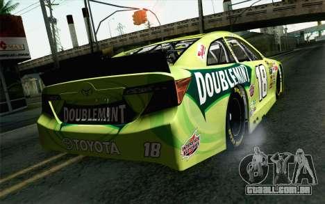 NASCAR Toyota Camry 2013 v4 para GTA San Andreas esquerda vista