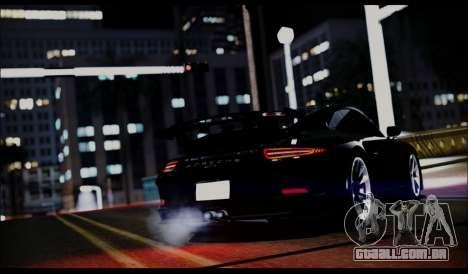 Grizzly Games ENB V2.0 para GTA San Andreas por diante tela