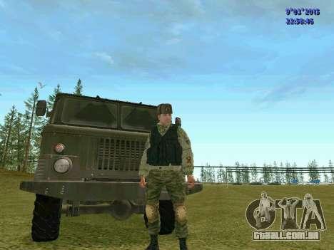 Guerreiro batalhão de Espírito para GTA San Andreas segunda tela