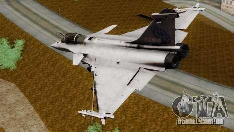 Dassault Rafale M Pisces para GTA San Andreas esquerda vista