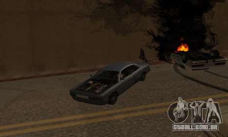 New Effects Paradise para GTA San Andreas nono tela