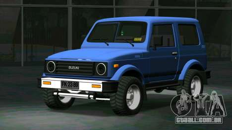 Suzuki Samurai para GTA San Andreas