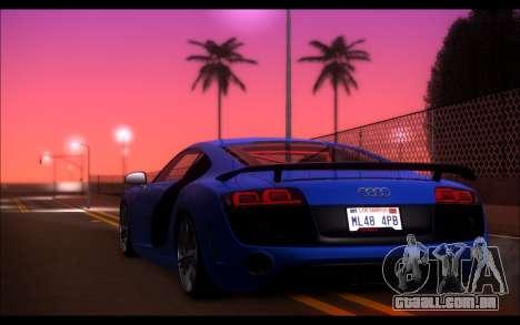 ENB Ximov V3.0 para GTA San Andreas por diante tela