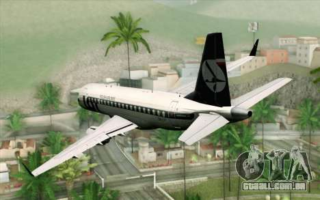Embraer EMB-175 LOT Polish Airlines para GTA San Andreas esquerda vista