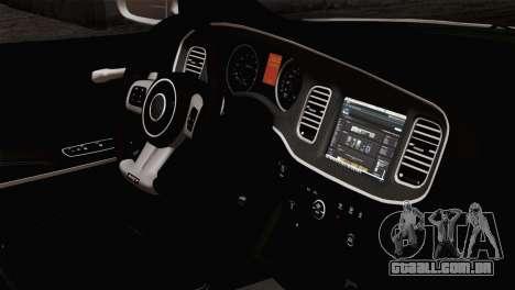 Dodge Charger SXT Premium 2014 para GTA San Andreas vista direita