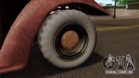GTA 5 Bravado Rat-Loader IVF para GTA San Andreas traseira esquerda vista