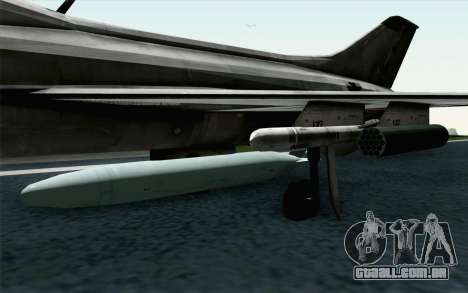 MIG-21 Fishbed C Vietnam Air Force para GTA San Andreas vista direita