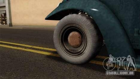 GTA 5 Bravado Rat-Loader para GTA San Andreas traseira esquerda vista