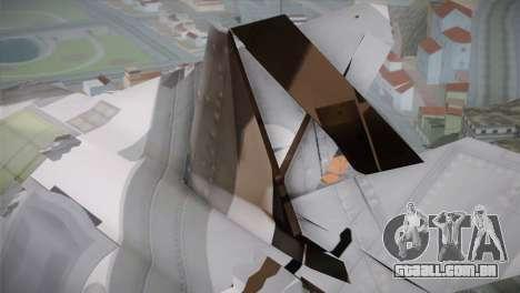 F-15 JASDF 50th Anniversary para GTA San Andreas vista direita