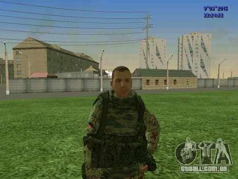 Um lutador de Esparta batalhão para GTA San Andreas