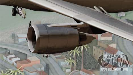 DC-10-30 Garuda Indonesia para GTA San Andreas vista direita