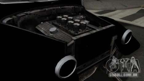 GTA 5 Bravado Rat-Truck SA Mobile para GTA San Andreas vista traseira