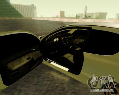 Peugeot 206 Street Racer Tuning para GTA San Andreas vista traseira