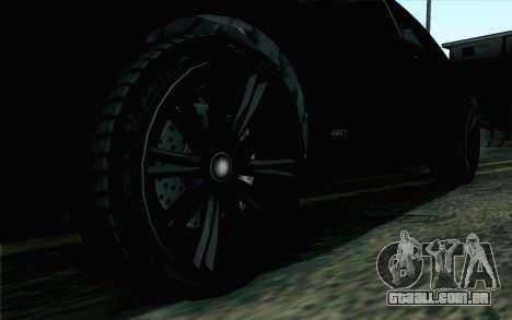 GTA 5 Karin Kuruma v2 SA Mobile para GTA San Andreas traseira esquerda vista