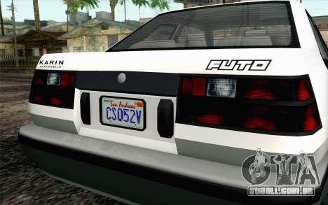 GTA 5 Karin Futo IVF para GTA San Andreas vista direita