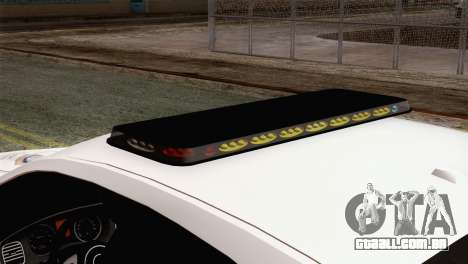 Dodge Charger SXT Premium 2014 para GTA San Andreas vista traseira
