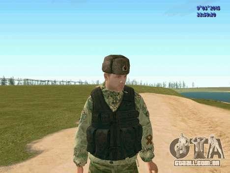 Guerreiro batalhão de Espírito para GTA San Andreas terceira tela