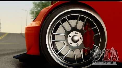 GTA 5 Benefactor Feltzer SA Mobile para GTA San Andreas vista traseira