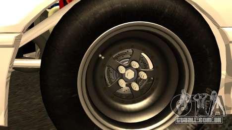 Honda CRX Dragster para GTA San Andreas traseira esquerda vista